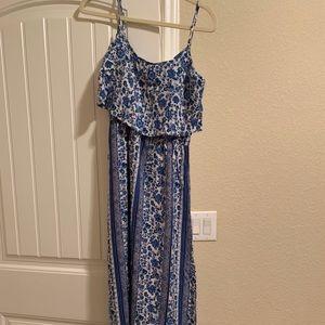 Blue Flower H&M Maxi Dress